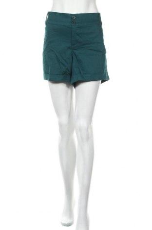 Дамски къс панталон Torrid, Размер XXL, Цвят Зелен, 98% памук, 2% еластан, Цена 15,75лв.