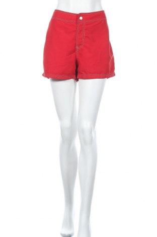 Дамски къс панталон Venus, Размер L, Цвят Червен, Полиестер, Цена 10,92лв.