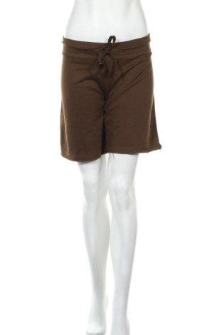 Дамски къс панталон Vintage, Размер L, Цвят Кафяв, 80% памук, 20% полиестер, Цена 16,54лв.