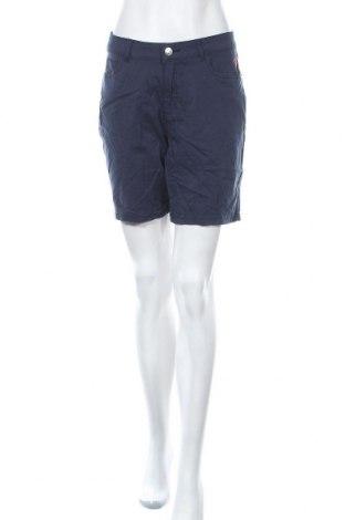 Дамски къс панталон Women by Tchibo, Размер L, Цвят Син, 97% памук, 3% еластан, Цена 25,20лв.