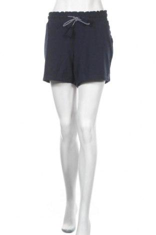 Дамски къс панталон Women by Tchibo, Размер XL, Цвят Син, 68% памук, 28% полиестер, 4% еластан, Цена 15,75лв.