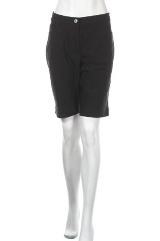 Дамски къс панталон Women by Tchibo, Размер XL, Цвят Черен, 70% вискоза, 26% полиамид, 4% еластан, Цена 29,45лв.