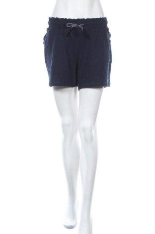 Дамски къс панталон Women by Tchibo, Размер XL, Цвят Син, 68% памук, 28% полиестер, 4% еластан, Цена 14,18лв.