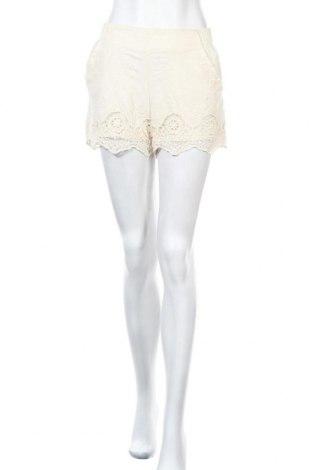 Дамски къс панталон Xhilaration, Размер M, Цвят Екрю, Памук, Цена 17,96лв.