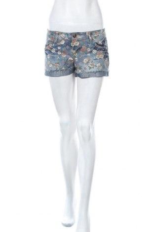 Дамски къс панталон Xxi, Размер S, Цвят Многоцветен, 75% памук, 24% полиестер, 1% еластан, Цена 17,96лв.
