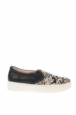 Дамски обувки, Размер 35, Цвят Многоцветен, Естествена кожа, естествен косъм, Цена 30,14лв.