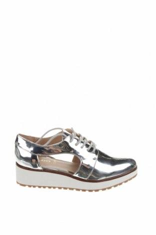 Γυναικεία παπούτσια Aldo, Μέγεθος 36, Χρώμα Γκρί, Δερματίνη, Τιμή 18,32€