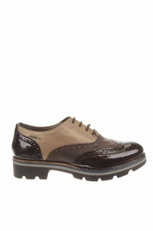 Дамски обувки Bugatti, Размер 37, Цвят Кафяв, Естествена кожа, еко кожа, Цена 114,92лв.