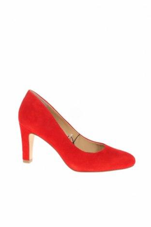 Γυναικεία παπούτσια Caprice, Μέγεθος 36, Χρώμα Κόκκινο, Φυσικό σουέτ, Τιμή 44,84€