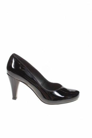 Дамски обувки Clarks, Размер 37, Цвят Черен, Естествена кожа, Цена 32,85лв.