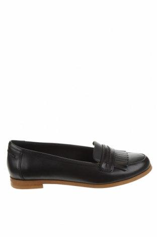 Дамски обувки Clarks, Размер 37, Цвят Черен, Естествена кожа, Цена 48,75лв.