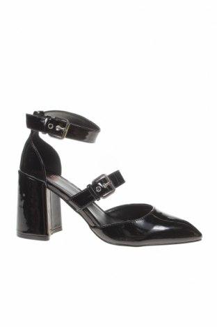 Γυναικεία παπούτσια Faith, Μέγεθος 38, Χρώμα Μαύρο, Δερματίνη, Τιμή 22,81€