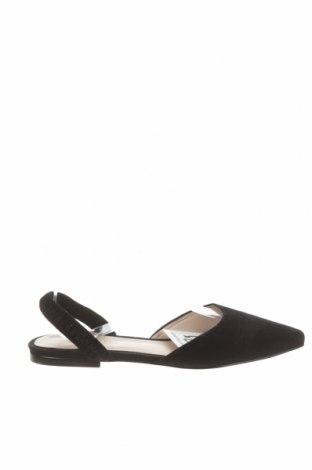 Γυναικεία παπούτσια Hallhuber, Μέγεθος 38, Χρώμα Μαύρο, Φυσικό σουέτ, Τιμή 36,37€