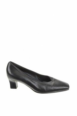 Дамски обувки Hogl, Размер 36, Цвят Черен, Естествена кожа, Цена 61,50лв.