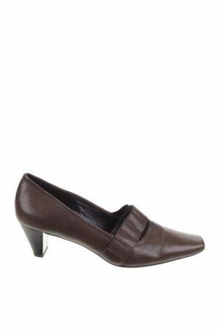 Дамски обувки Hogl, Размер 38, Цвят Кафяв, Естествена кожа, Цена 61,50лв.