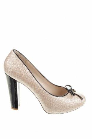 Дамски обувки Liu Jo, Размер 41, Цвят Бежов, Текстил, Цена 58,50лв.