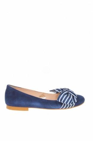 Γυναικεία παπούτσια Mint & Berry, Μέγεθος 37, Χρώμα Μπλέ, Φυσικό σουέτ, Τιμή 43,30€