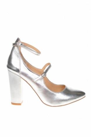 Дамски обувки Mint & Berry, Размер 38, Цвят Сребрист, Еко кожа, Цена 30,09лв.