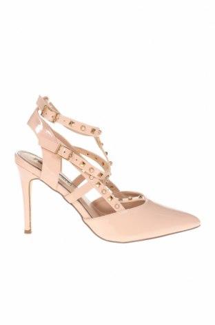 Дамски обувки Miss Selfridge, Размер 40, Цвят Розов, Еко кожа, Цена 35,55лв.