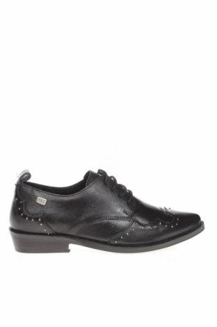 Дамски обувки Musse&Cloud, Размер 36, Цвят Черен, Естествена кожа, Цена 32,11лв.