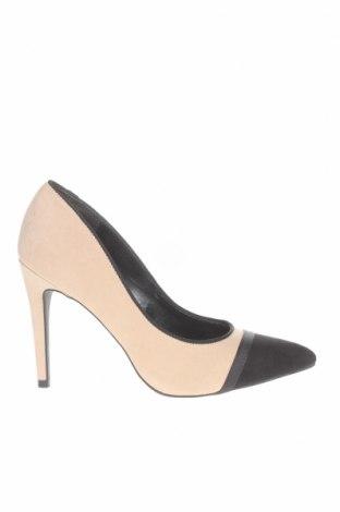 Γυναικεία παπούτσια New Look, Μέγεθος 38, Χρώμα  Μπέζ, Κλωστοϋφαντουργικά προϊόντα, Τιμή 22,81€