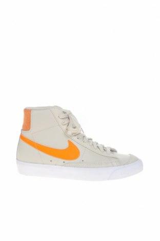 Γυναικεία παπούτσια Nike, Μέγεθος 36, Χρώμα Γκρί, Γνήσιο δέρμα, φυσικό σουέτ, Τιμή 46,16€