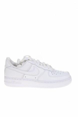 Παιδικά παπούτσια Nike, Μέγεθος 36, Χρώμα Λευκό, Γνήσιο δέρμα, Τιμή 57,60€
