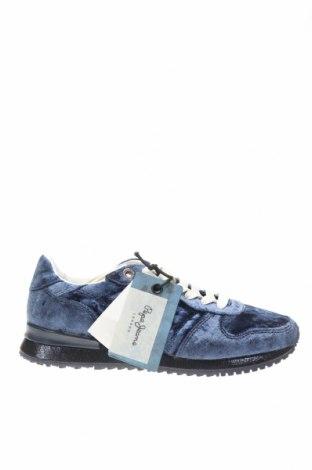 Γυναικεία παπούτσια Pepe Jeans, Μέγεθος 36, Χρώμα Μπλέ, Κλωστοϋφαντουργικά προϊόντα, Τιμή 32,24€