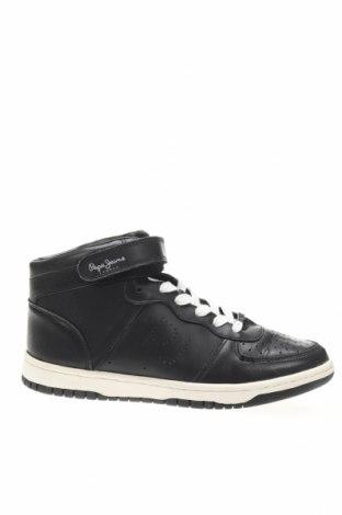 Дамски обувки Pepe Jeans, Размер 37, Цвят Черен, Еко кожа, Цена 82,01лв.