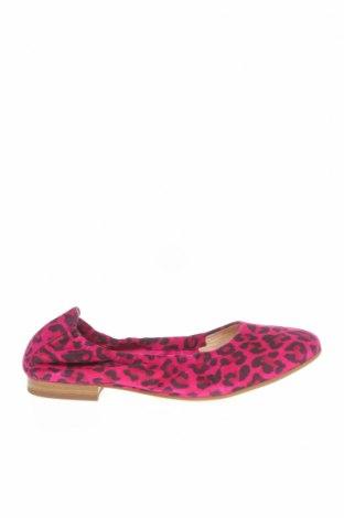 Дамски обувки Peter Kaiser, Размер 35, Цвят Розов, Естествен велур, Цена 52,92лв.
