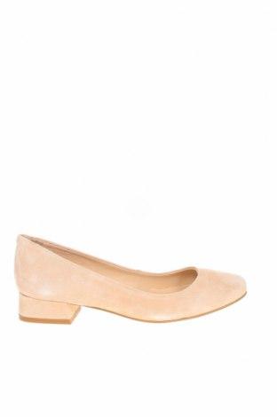 Дамски обувки Pier One, Размер 36, Цвят Розов, Естествен велур, Цена 89,25лв.