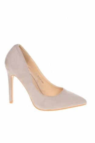 Дамски обувки Public Desire, Размер 36, Цвят Сив, Текстил, Цена 33,04лв.