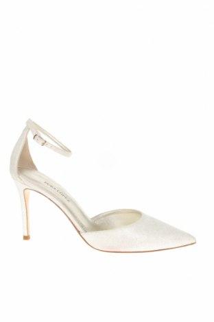 Дамски обувки Pura Lopez, Размер 39, Цвят Бял, Текстил, Цена 32,85лв.