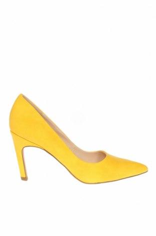 Γυναικεία παπούτσια Steve Madden, Μέγεθος 36, Χρώμα Κίτρινο, Δερματίνη, Τιμή 39,20€