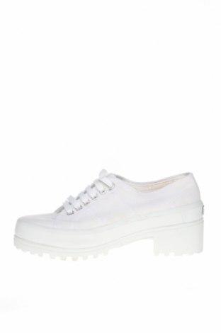 Дамски обувки Superga, Размер 41, Цвят Бял, Текстил, Цена 89,25лв.