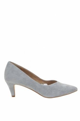 Γυναικεία παπούτσια Tamaris, Μέγεθος 38, Χρώμα Μπλέ, Φυσικό σουέτ, Τιμή 46,01€