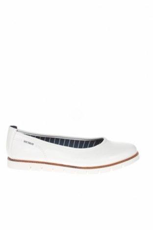 Γυναικεία παπούτσια Tom Tailor, Μέγεθος 40, Χρώμα Λευκό, Δερματίνη, Τιμή 30,54€