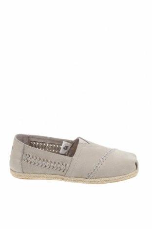 Γυναικεία παπούτσια Toms, Μέγεθος 36, Χρώμα Γκρί, Γνήσιο δέρμα, Τιμή 32,51€
