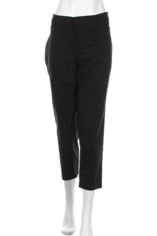 Дамски панталон Ab Studio, Размер XL, Цвят Черен, 75% вискоза, 21% полиамид, 4% еластан, Цена 25,94лв.