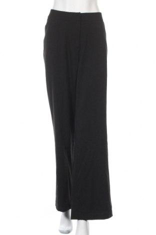 Дамски панталон Anne Klein, Размер XXL, Цвят Черен, 62% полиестер, 33% вискоза, 5% еластан, Цена 80,92лв.