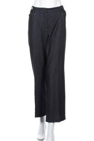 Дамски панталон Anne Klein, Размер XL, Цвят Син, 76% полиестер, 19% вискоза, 5% еластан, Цена 39,69лв.