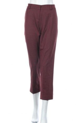 Дамски панталон Bgn Workshop, Размер M, Цвят Червен, 67% полиестер, 30% вискоза, 3% еластан, Цена 59,25лв.