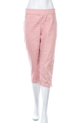 Дамски панталон Breakers, Размер XL, Цвят Розов, Памук, полиестер, еластан, Цена 9,18лв.