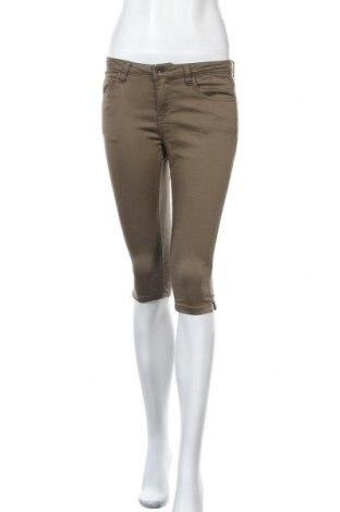 Дамски панталон Broadway, Размер S, Цвят Зелен, 66% памук, 32% полиестер, 2% еластан, Цена 11,55лв.