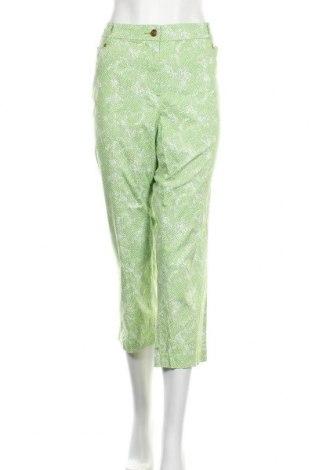 Дамски панталон Charter Club, Размер XL, Цвят Зелен, 98% памук, 2% еластан, Цена 23,63лв.
