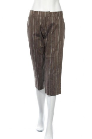 Дамски панталон Colours Of The World, Размер L, Цвят Кафяв, 70% памук, 29% полиестер, 1% еластан, Цена 28,35лв.