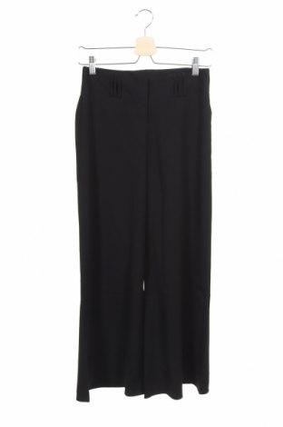Дамски панталон H&M, Размер XS, Цвят Черен, 97% полиестер, 3% еластан, Цена 5,74лв.