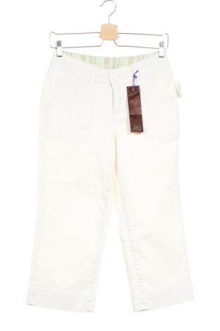 Дамски панталон JAG, Размер XS, Цвят Бял, 97% памук, 3% еластан, Цена 4,60лв.