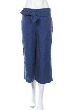 Дамски панталон Kiomi, Размер M, Цвят Син, 75% вискоза, 25% полиамид, Цена 24,36лв.