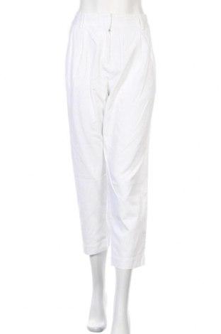 Γυναικείο παντελόνι Lacoste, Μέγεθος L, Χρώμα Λευκό, Βαμβάκι, Τιμή 24,94€